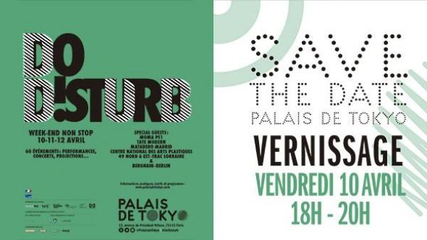 Cartel del Festival Do Disturb¡ | Matadero Madrid, invitado al primer festival Do Disturb! del Palais de Tokyo