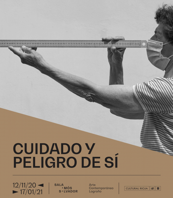 Cartel de la exposición. Cortesía de la Sala Amós Salvador (Logroño) | #Loquehayquer en España: meditación en Sala Amós Salvador, experimentación en Centro Botín e invitación en San Telmo Museoa