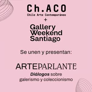 Cortesía de Chile Arte Contemporáneo (Ch.ACO)  y Gallery Weekend Santiago