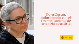 Dora García, Premio Nacional de Artes Plásticas 2021 (Museo Nacional Centro de Arte Reina Sofía. 2018 Archivo fotográfico del Museo Reina Sofía). Cortesía del Ministerio de Cultura y Deporte