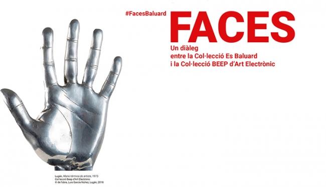 Cartel de la exposición. Cortesía de los comisarios y de Es Baluard | Las 14 FACES de Roberta Bosco y Stefano Caldana
