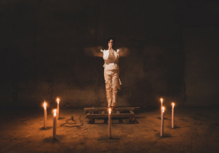 El ritual, 2021. Cortesía de la Galería Blanca Berlín