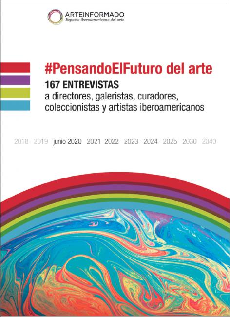 """Portada del e-book """"#PensandoElFuturo del Arte""""   167 reflexiones sobre el mundo del arte actual"""