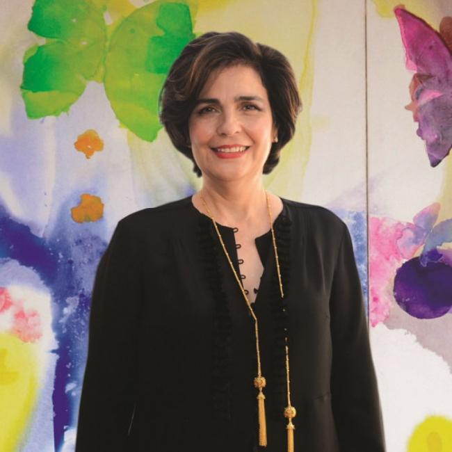 María Amalia León de Jorge. Cortesía de la Fundación Eduardo León Jimenes   15 líderes artísticos manejando 10 instituciones del Caribe insular