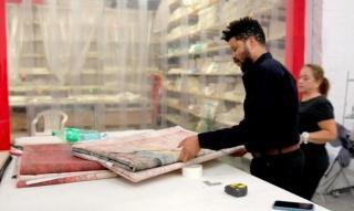 Fotograma de vídeo con motivo de la nominación de Óscar Murillo al Turner Prize 2019. Cortesía de Turner Contemporary