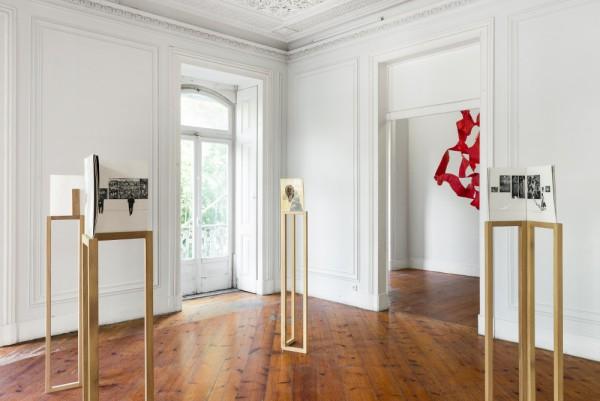 Vista de la exposición en la Kunsthalle Lissabon | Mariana Castillo Deball debuta en solitario en Portugal en la Kunsthalle Lissabon