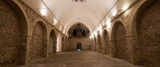 Vista del espacio de La Capella. Cortesía del Institut de Cultura de Barcelona
