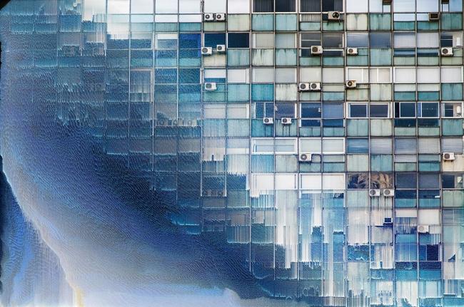 'Glitchdo' en Contrast. Cortesía de Art Nou   #loquehayquever en España: Art Nou, MadridGráfica y Getxophoto