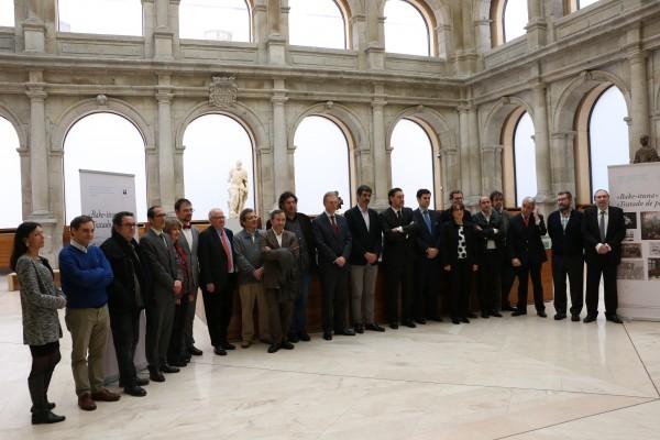 "Cortesía de San Sebastián Capital Europea de la Cultura 2016   San Sebastián Capital Europea de la Cultura 2016 presenta ""Tratado de Paz"""