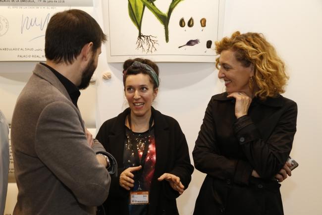 Tania Blanco. Cortesía de la Comunidad de Madrid   Tania Blanco encabeza la lista de premiados en Estampa 2018