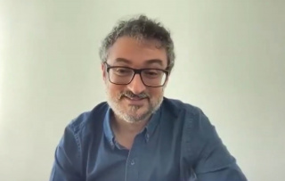 Captura de pantalla de la entrevista con Alfredo Puente