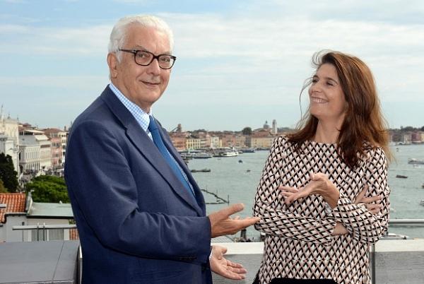 Paolo Baratta (Presidente de la Fundación Bienal de Venecia) y Christine Macel | 17 artistas de 8 países iberoamericanos en la gran exposición de la 57ª Bienal de Venecia