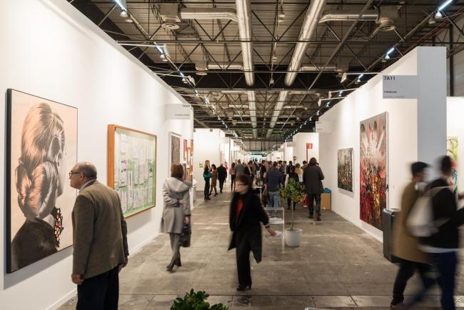 Imagen de la edición de 2018. Cortesía de ARCOmadrid e Ifema | ARCO y arteBA llevan años apoyando a sus galerías jóvenes con escalado de precios