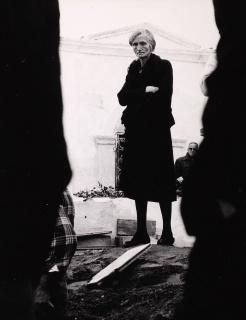 Julio Ubiña. Entierro de Carmen Amaya, 1963. Cortesía del MNCARS