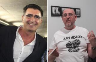 Paco de Blas (izquierda) y Fernando Castro Flórez (derecha). Cortesía de ellos mismos.