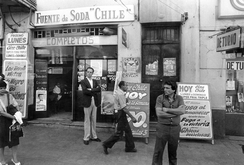 Franklin, Fuente de Soda, Santiago de Chile (1986) - Marcelo Montecino Slaughter