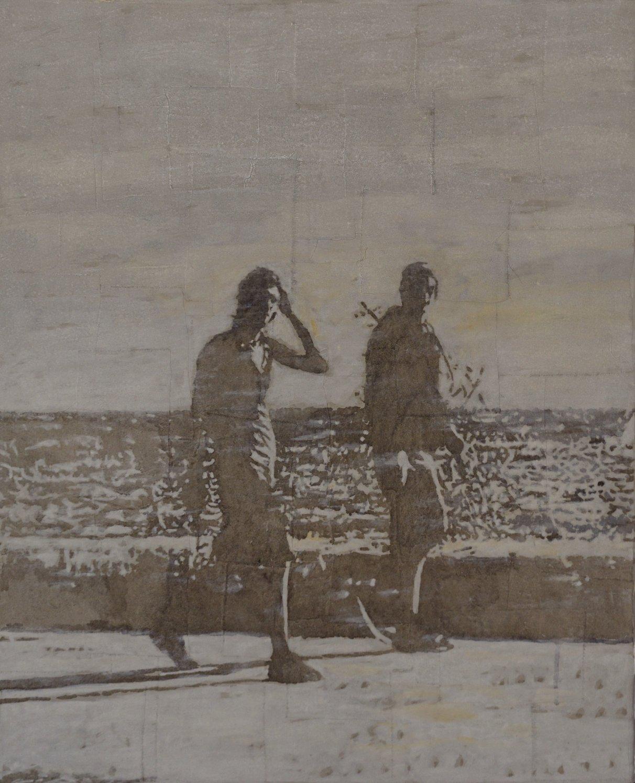 Jóvenes caminando (2019) - Sebastián Navas