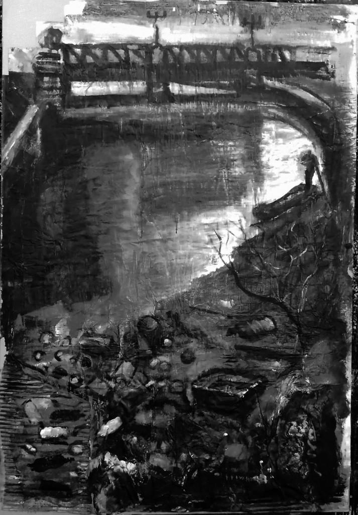 El puente Alemán II (2014) - Rafael Alvarado