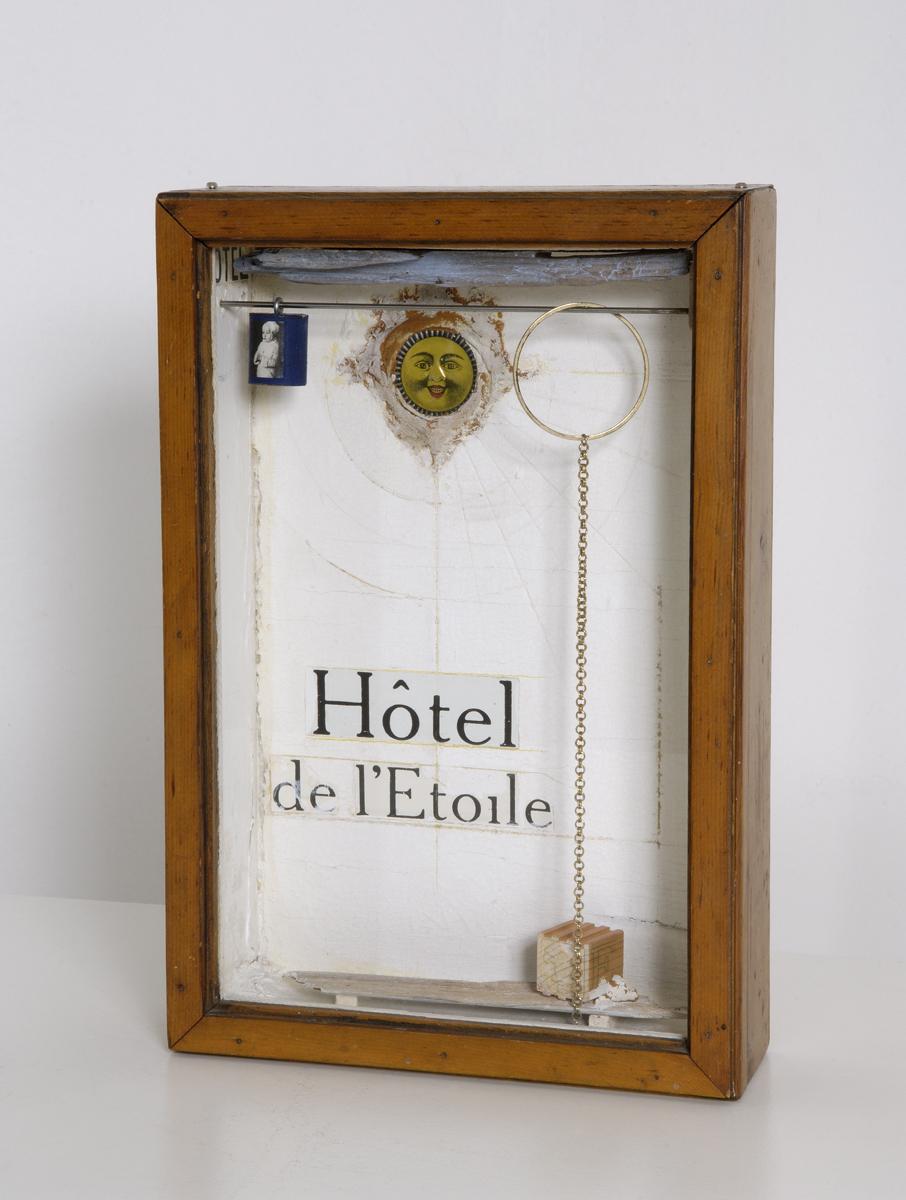 Sin titulo, (Hotel de L'Etoile) (1956) - Joseph Cornell