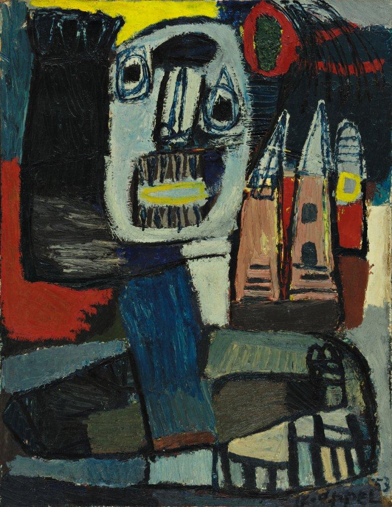 Saut dans l'Espace (1953) - Karel Appel