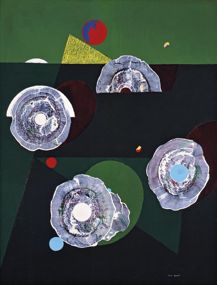 Coquilles Fleurs (1929) - Max Ernst