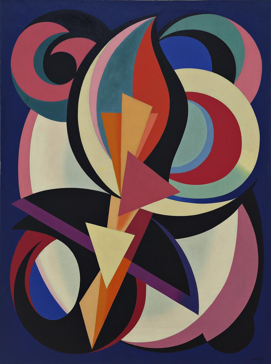 Composition (1939) - Auguste Herbin