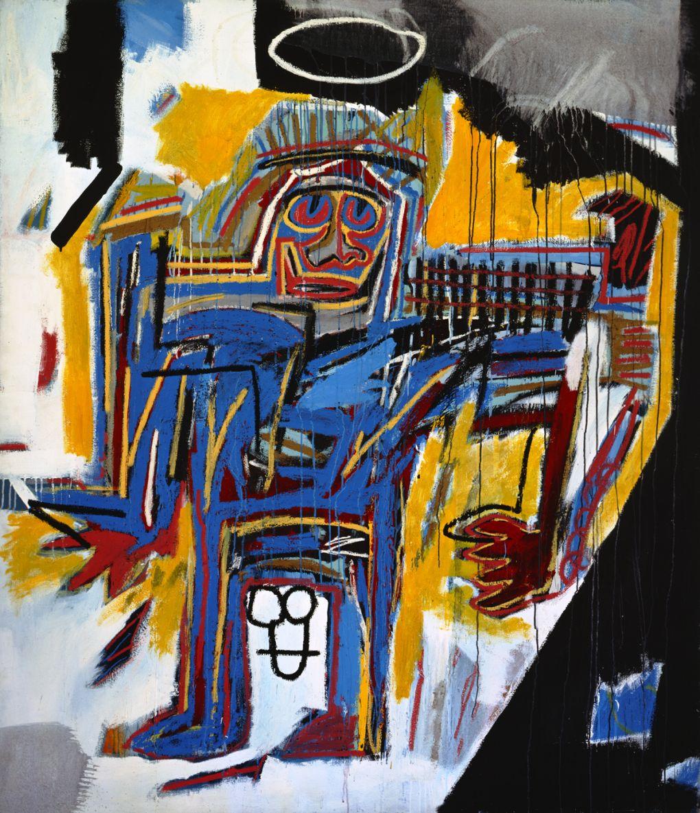Pater (1982) - Jean-Michel Basquiat