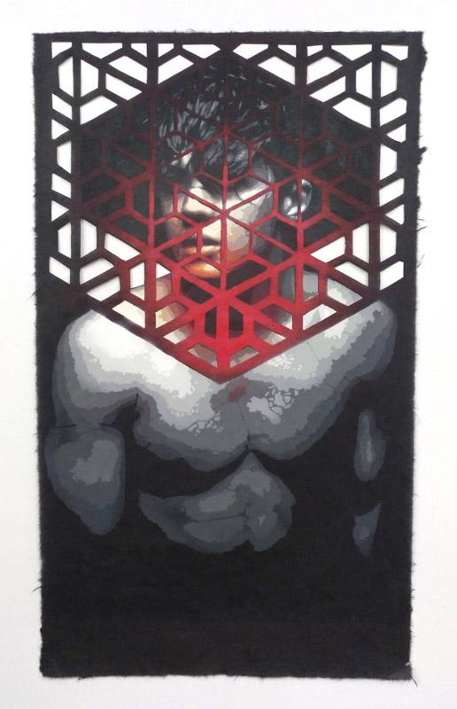 The beauty Cage of aesthetics (II) (2018) - Roc Blackblock
