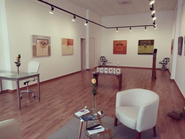 Sala principal Galería Artemisia