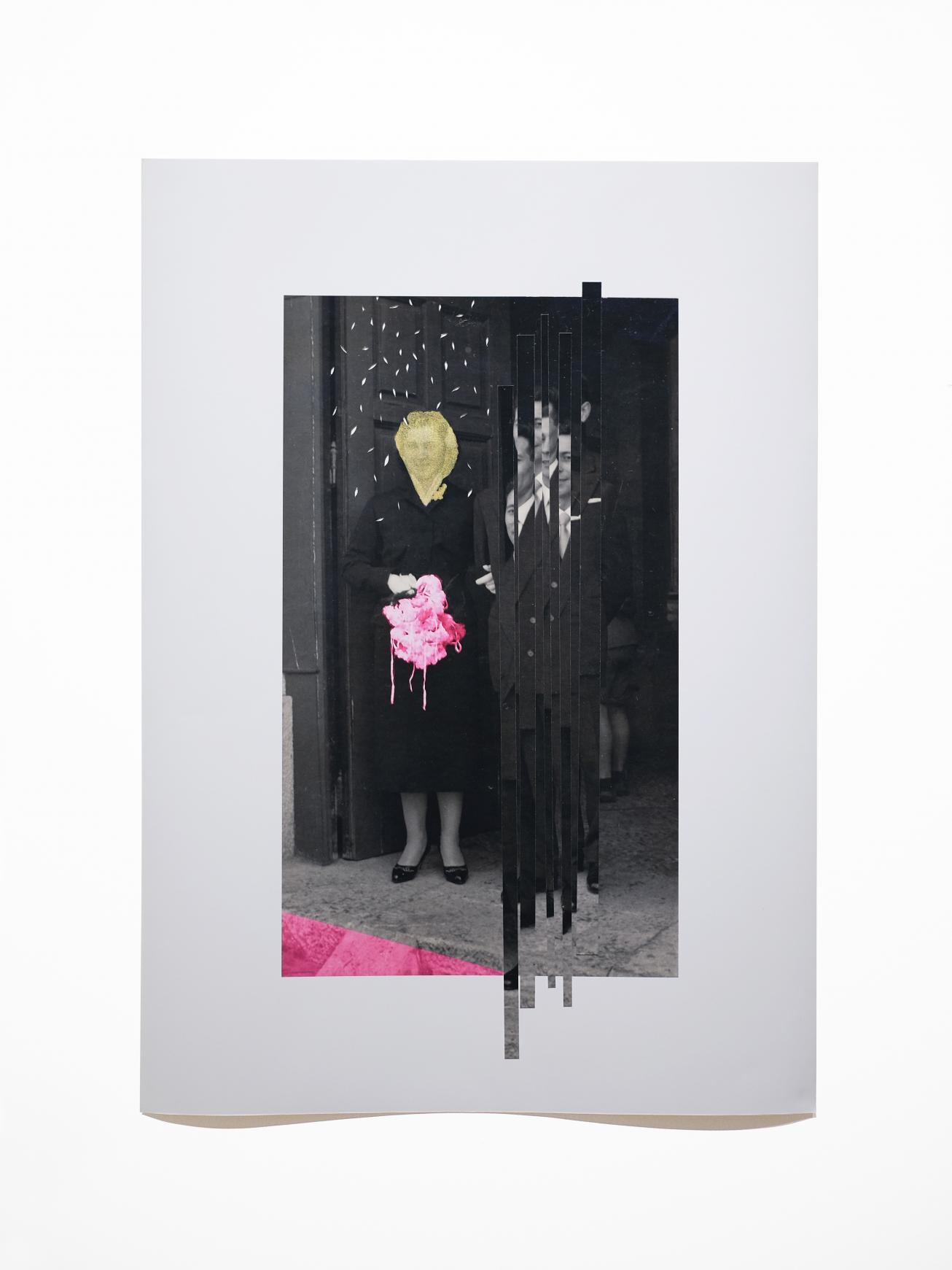 Su tiempo el rasgar, / y su tiempo el coser (2020) - Carmen Santamarina