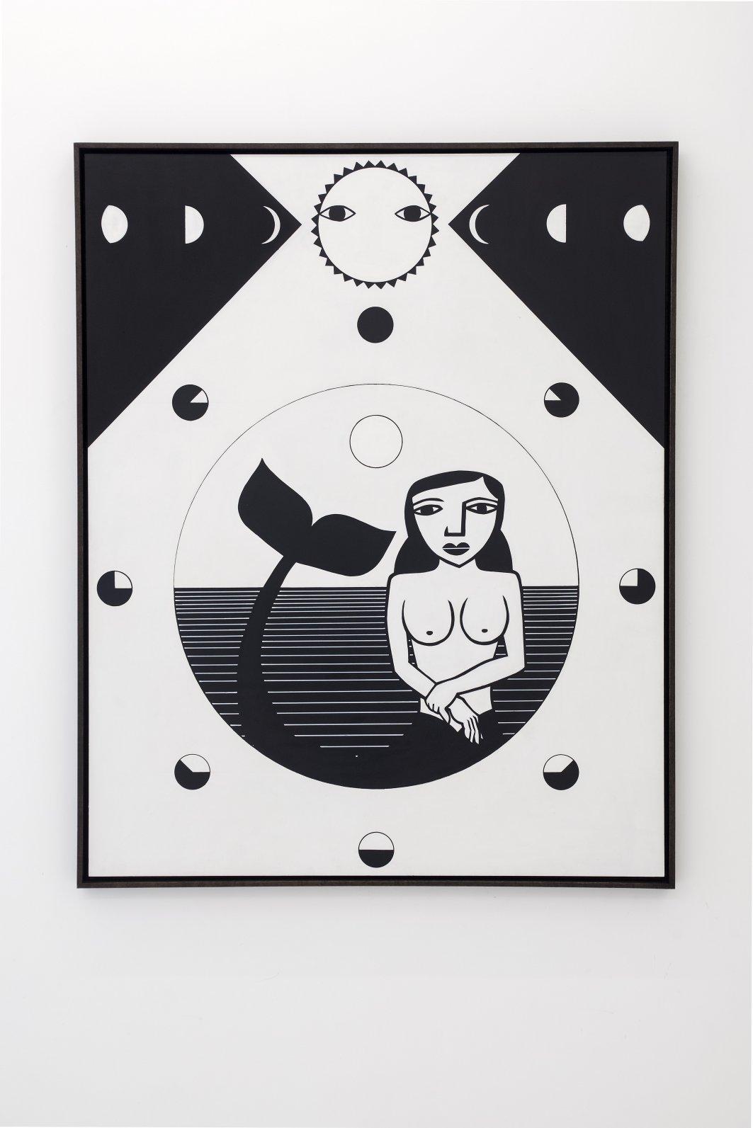 Fases da lua, aparecimento da sereia (2018) - Derlon Almeida de Lima