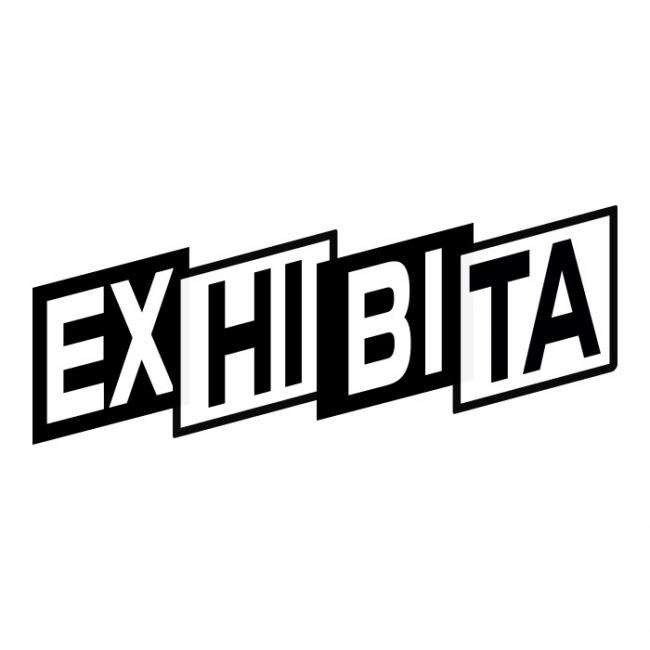 Logo de Exhibita, basado en Juguetes Grau y Cinerama