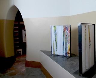 "Franco Nuti - ""Rimandi"" - Installation view, 2015, Biblioteca Nazionale, Naples"