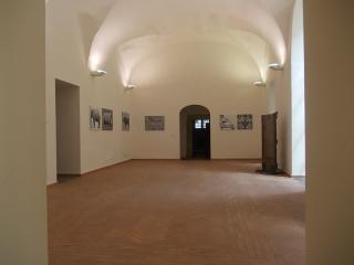 "Angelo Zanella - ""De umbris idearum"" - Installation view, 2015, Ex carceri, Nola (Naples)."
