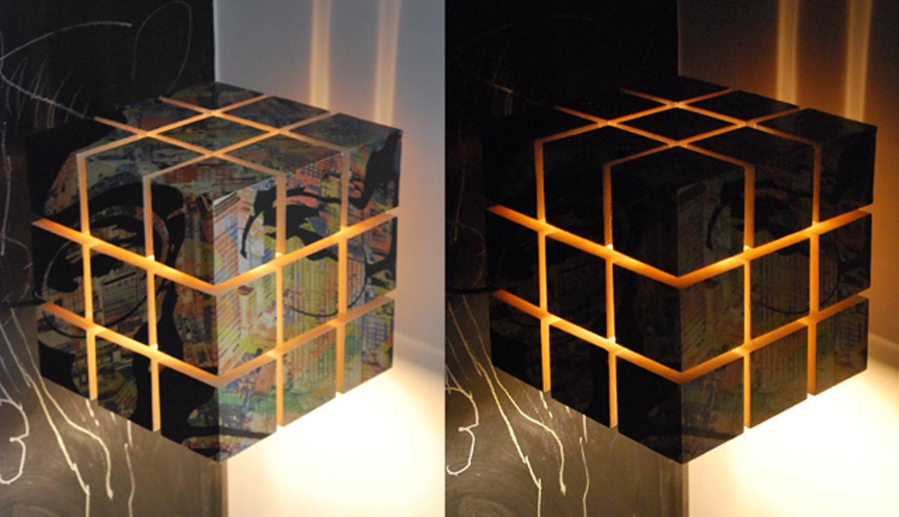 LAMPE SCULPTURE ARN 25 NYC LENNON (2015) - Daniel Barroso Peña