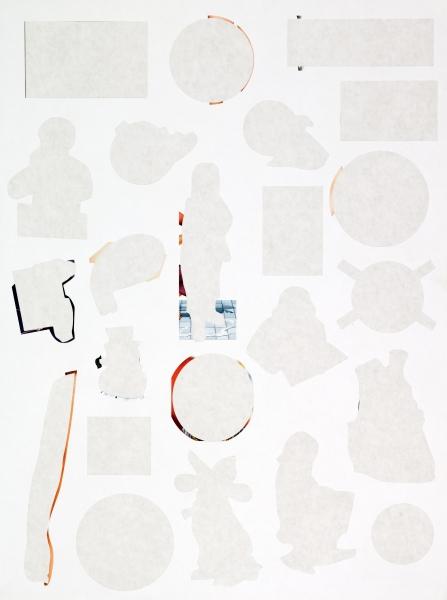Stickers 5, Margarida Gouveia, inkjet print on paper, 110cm x 80cm 2011