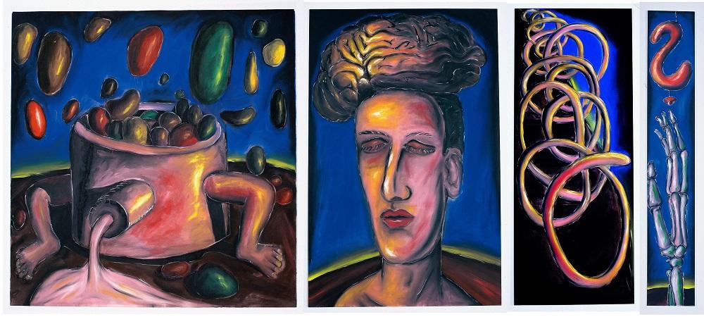 Sin título (Escuela de Colonia) (1982) - Jiri Georg Dokoupil