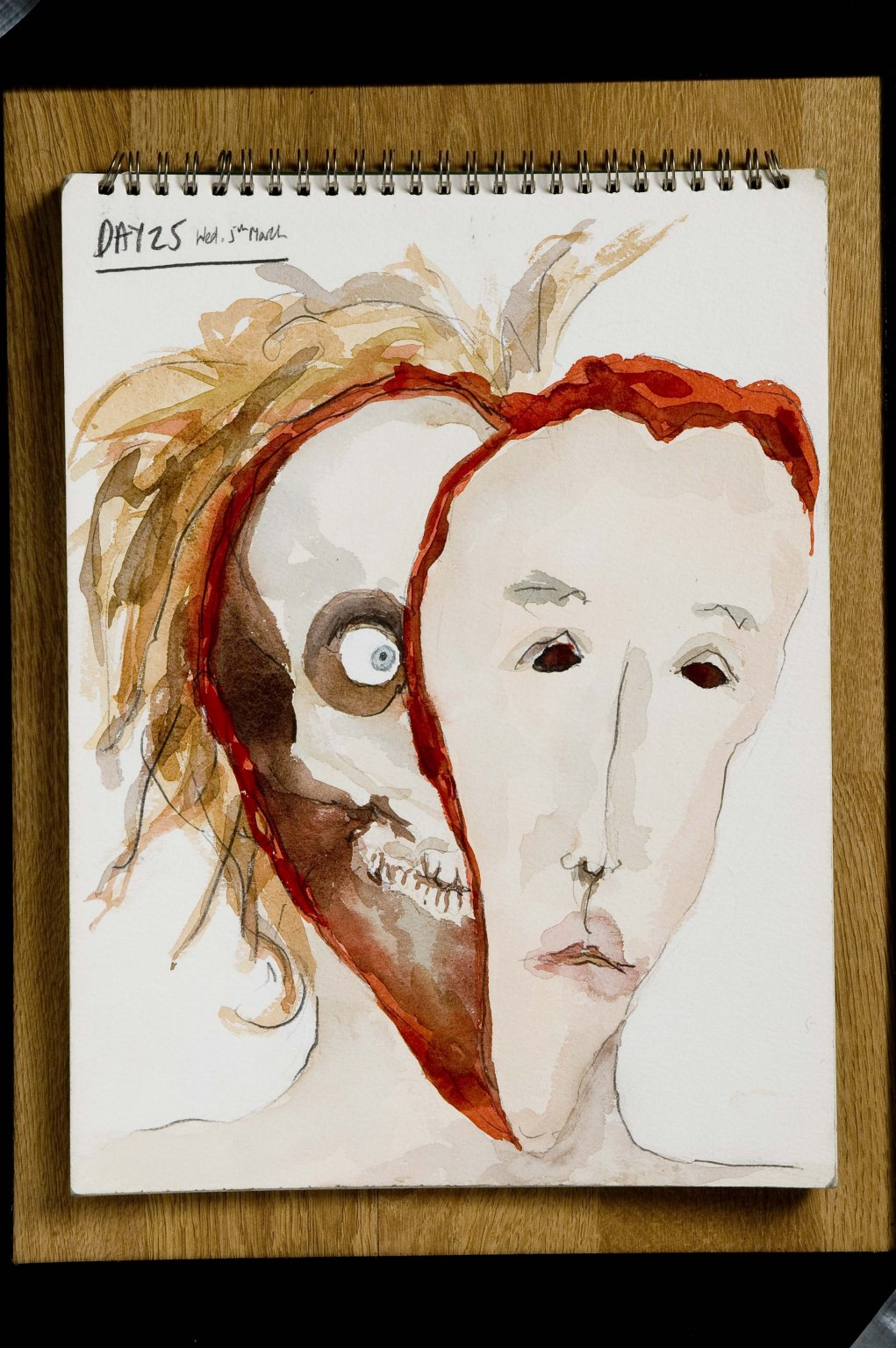 Drawings: Mental Illness and Me. Day 25 (1997) - Bobby Baker