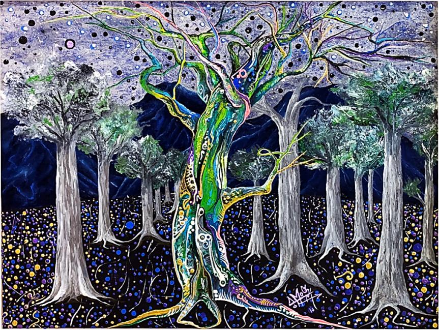Bosque Transfigurado (de la serie Transfiguraciones) (2013) - Alejandro Amos