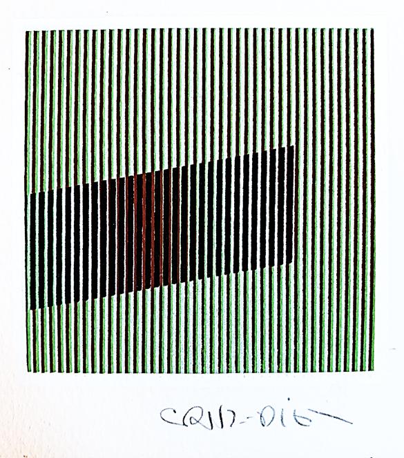 UNTITLED (1989) - Carlos Cruz-Diez