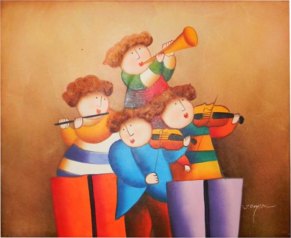 UNTITLED - SERIE MÚSICOS (1989) - Joyce Roybal