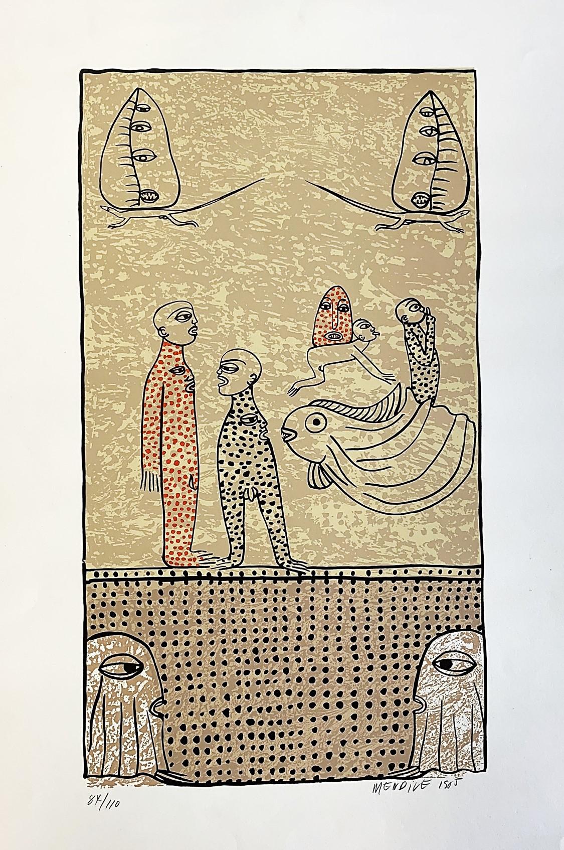 Sin Título (1985) - Manuel Mendive Hoyo