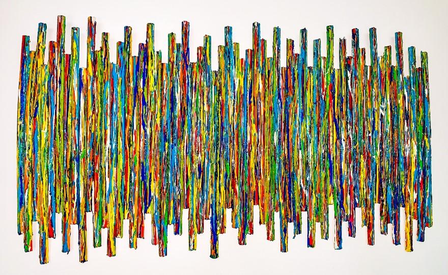 SIN TÍTULO (ABSTRAC WALL SCULPTURE) (2013) - Rosemany Pierce