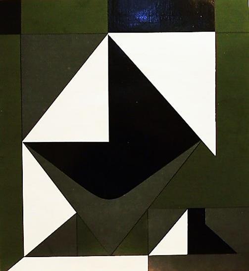 SANS TITRE (VVHF004) (1950) - Víctor Vasarely