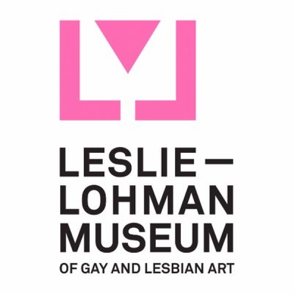 Logotipo. Cortesía del Leslie-Lohman Museum of Gay and Lesbian Art