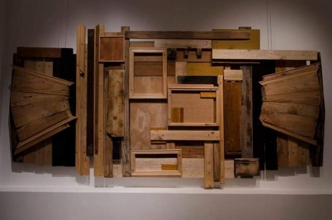 Ensamble de maderas, de Alberto Sassani