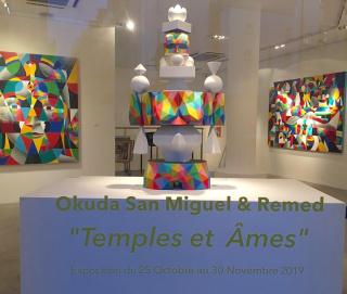 ADDA Gallery Paris -  Remed y Okuda San Miguel