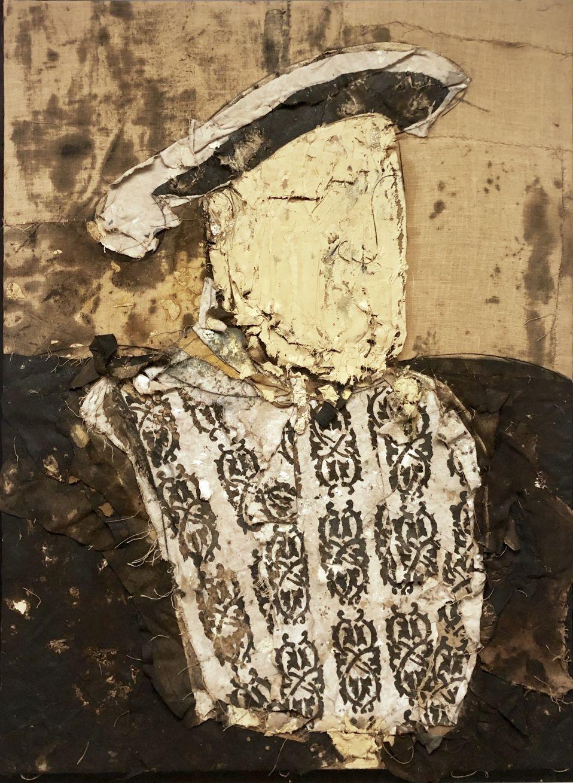 Retrato de Enrique VIII (1991) - Manolo Valdés