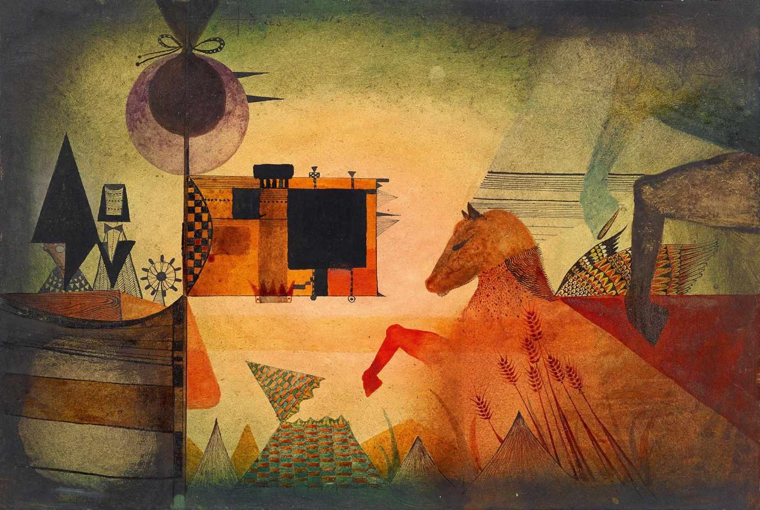 Composición Surrealista (1951) - Antoni Tàpies