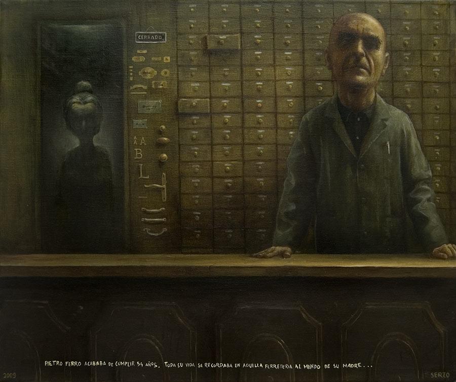 PIETRO EN LA FERRETERÍA (2009) - José Luis Serzo - Blinky R. Rodríguez